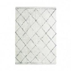 COTTON BERBERE Tapis de salon - 120 x 170 cm - 100 % coton