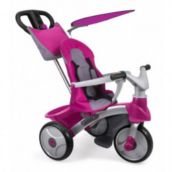 FEBER - Tricycle Baby Trike Easy Evolution - Rose