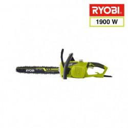 RYOBI Tronçonneuse 1900 W - 35 cm + 2 chaînes - RCS1935B2C